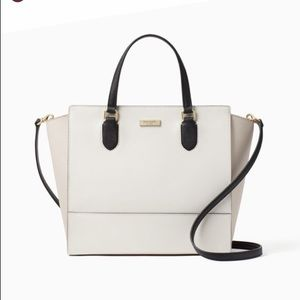 Kate Spade Hadley Satchel Laurel Color Way